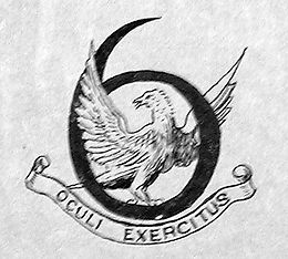6 Squadron Royal Flying Corps - First Squadron Emblem c1915