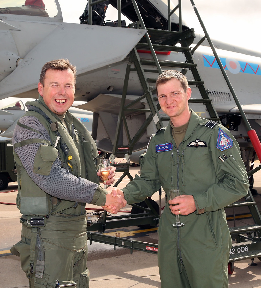 Change of Command - 6 Squadron Royal Air Force