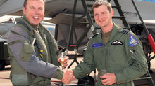 Change of Bosses at 6 Squadron
