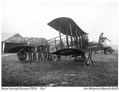 Royal Aircraft Factory FE2b Gold Coast No 10 presentation aircraft