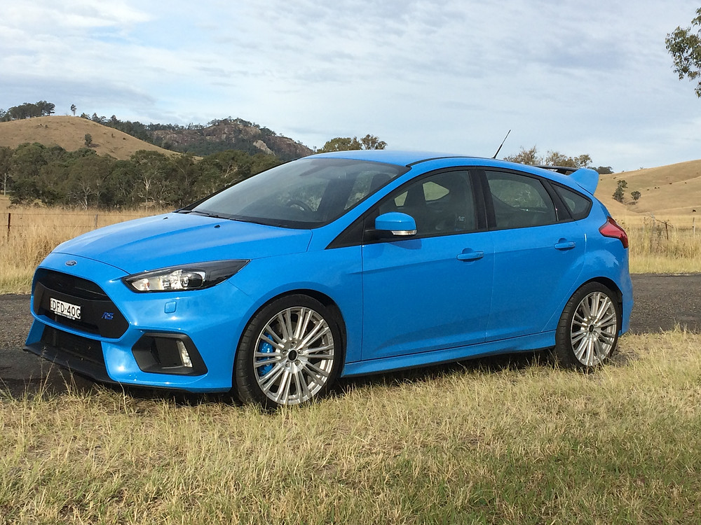 Ford Focus RS (Mark 3) at Gloucester, New South Wales