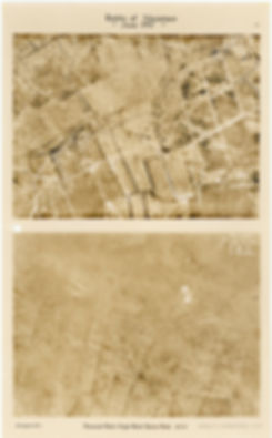 6 Squadron aerial photos of Ravine, Denys and Pheasant Wood, taken by 6 Squadron before and after the pre-bombardment at Battle of Messines, 1917