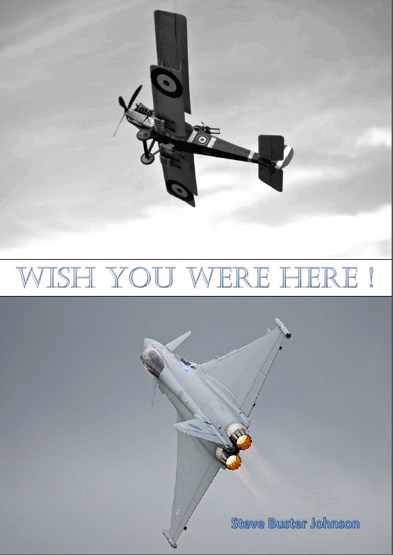 Front Cover of 'Wish You Were Here' by Steve Buster Johnson