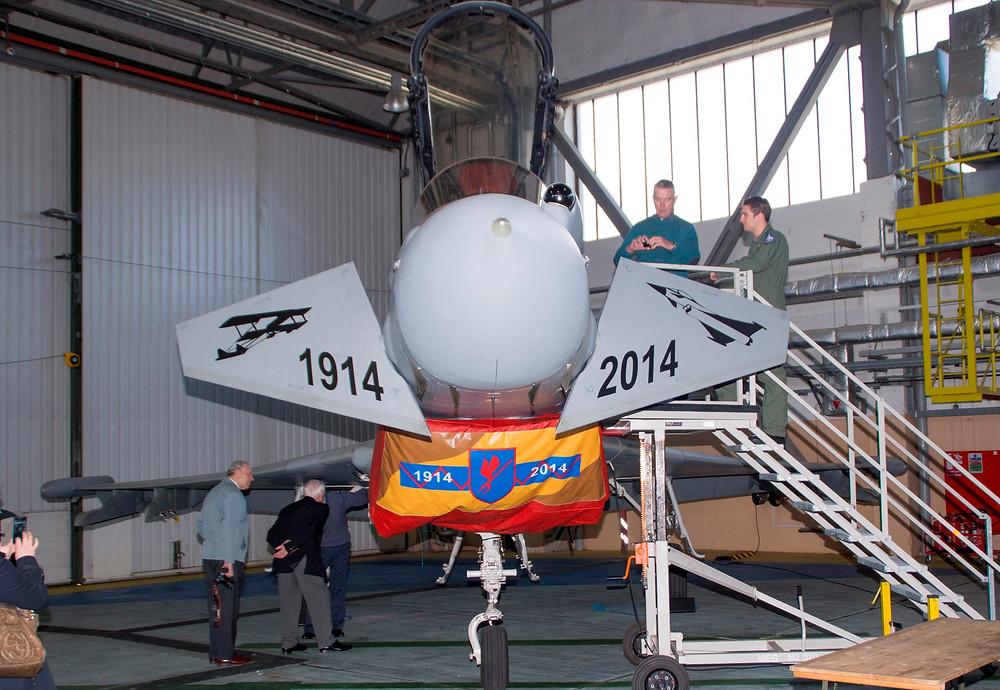 6 Squadron RAF centenary markings