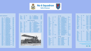 6 Squadron Roll of Honour