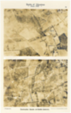 6 Squadron aerial photos of destructive shoot at Zonnebeke, taken by 6 Squadron immediately prior to the Battle of Messines, 1917