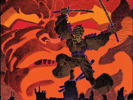 The Original Samurai Jack  (Ronin by Frank Miller)