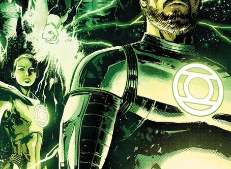 Green Lantern Earth One vol 2 - An Emerald Beacon in Deep Space