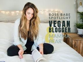 Personal Branding Photos with Vegan Blogger, Mental Health Advocate & New Mamma Bear