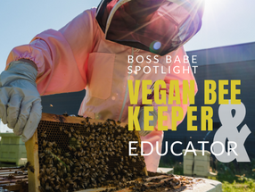 Personal Branding Photography Session with Liverpool Vegan Beekeeper & Educator