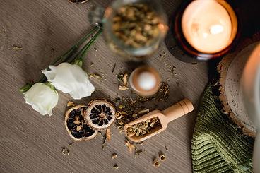 Loose leaf tea remote product photoshoot.