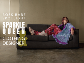Personal Branding and Product Photography Session with Sparkle Queen & Clothing Designer
