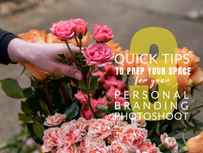 3 Quick Tips to Prep Your Space for Your Personal Branding Photoshoot