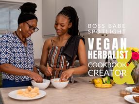 Personal Branding Photoshoot with Liverpool Herbalist & Vegan Cookbook Creator