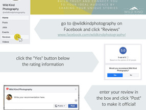 How to Leave a Facebook Recommendation
