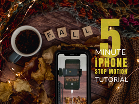 5 Minute Quick & Easy IPhone Stop Motion Tutorial