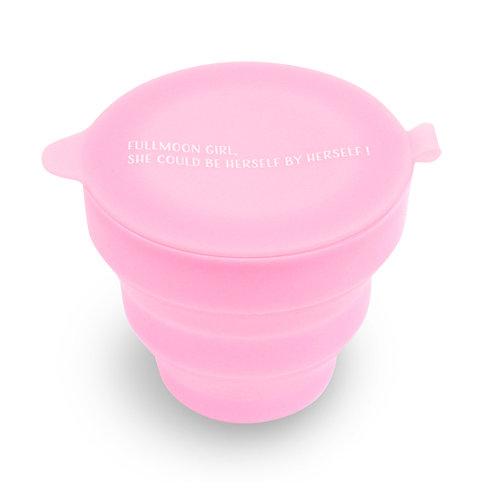 煮沸消毒もかんたん!    MOON CLEAN CUP ムーンクリーンカップ