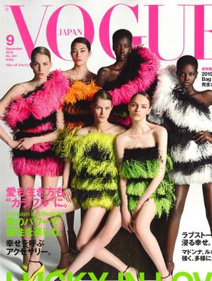 雑誌「VOGUE」9月号にVMが掲載されました!