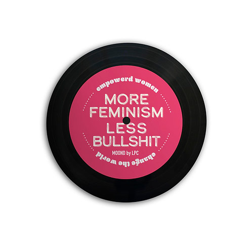 MOOND 缶バッヂ MORE FEMINISM LESS BULLSHIT