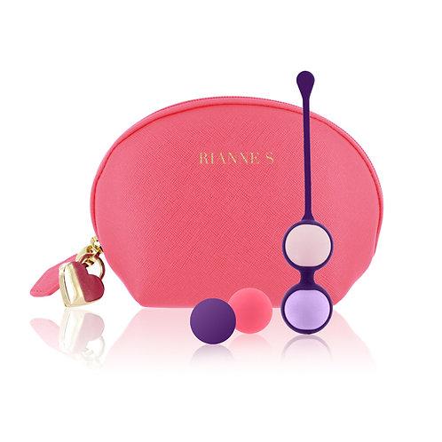 美しさと使いやすさを兼ね備える【RianneS】 プレイボール コーラルバッグ