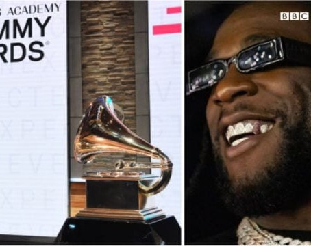 Burna Boy's 'Twice As Tall' Album Nominated For The #Grammys