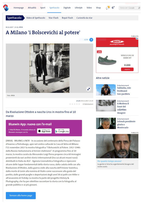 Bluewin.ch i Bolscevichi al potere