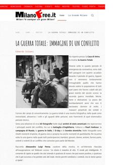 #EdoardoColzani segnala per #MilanoFree.it la riapertura della nostra mostra #laGuerraTotale con un