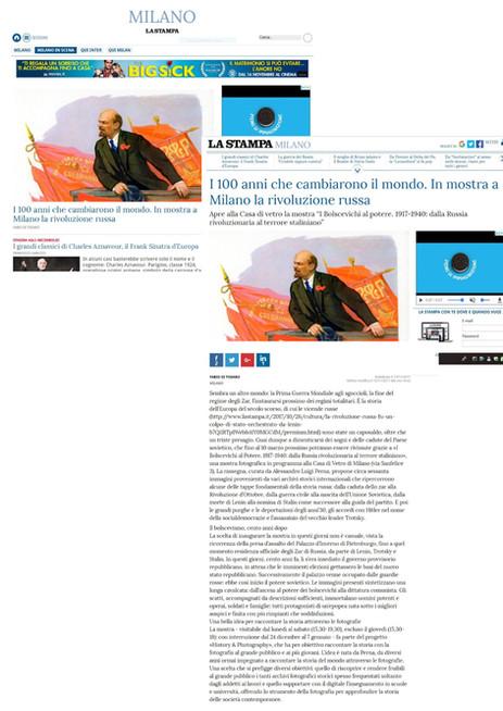 la stampa_it i Bolscevichi al potere