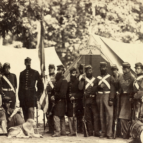 La 7a Milizia dello Stato di New York a Camp Cameron