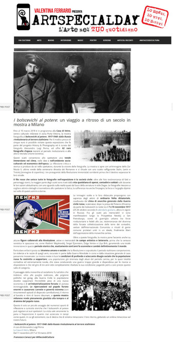 artspecialday_com i Bolscevichi al potere