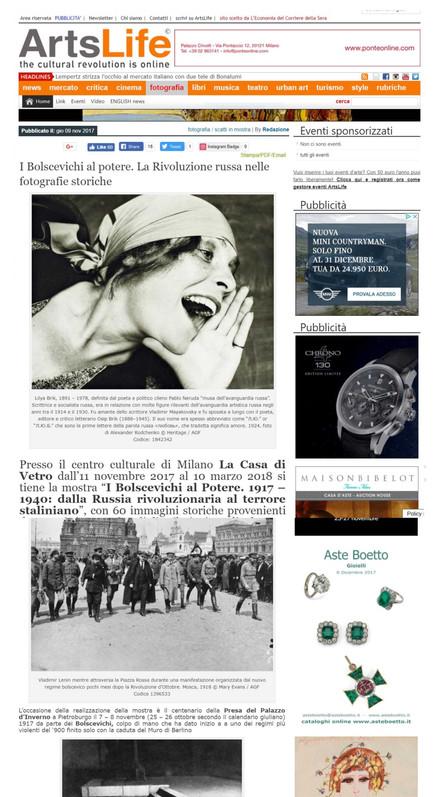 Artslife.com i Bolscevichi al potere