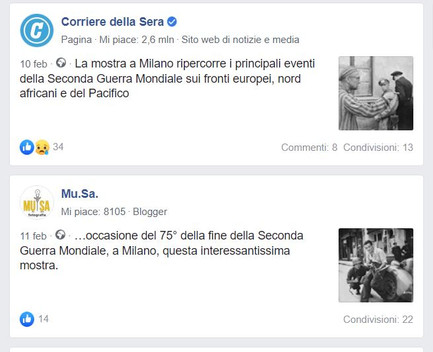facebook Corriere_it e Mu_Sa laGuerraTotale