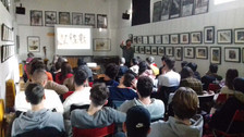 This morning  some students of IIS Antonietti of Iseo came to know the conditions of the minors at t