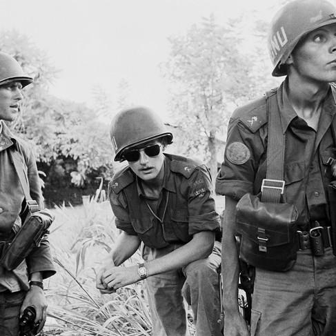 Pattuglia di soldati del contingente svedese delle Forze delle Nazioni Unite