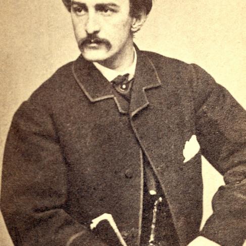 John Wilkes Booth (1838/1865), l'assassino del Presidente Abraham Lincoln
