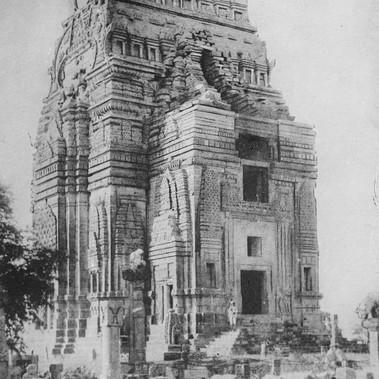 L'antico tempio induista di Teli Ka Mandir nel forte di Gwalior