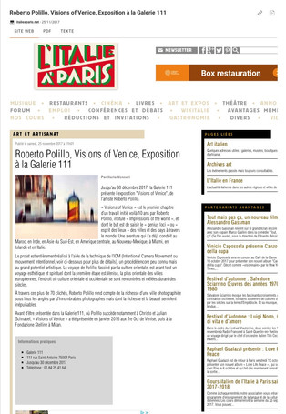italieaparis_net Visions of Venice a Paris