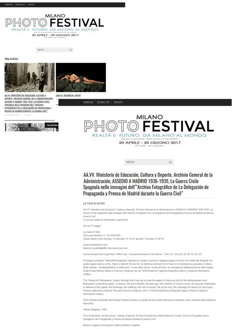 photofestival_it Assedio a Madrid