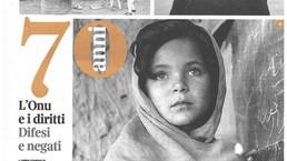 Corriere della Sera Buone Notizie in edicola oggi dedica un portfolio di due pagine alla nostra most
