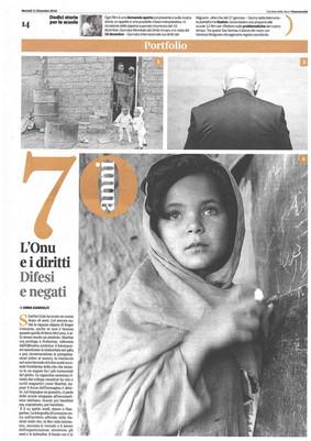 Corriere della Sera Buone Notizie 11 dicembre 2018 HumanRights