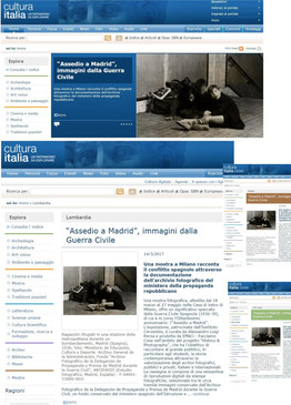 cultura italia un patrimonio da esplorare Assedio a Madrid