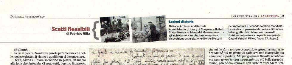 Corriere della Sera Lettura 16 febbraio laGuerraTotale