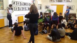 questo pomeriggio Alessandro Luigi Perna ha raccontato agli studenti del Liceo Colombini di Piacenza