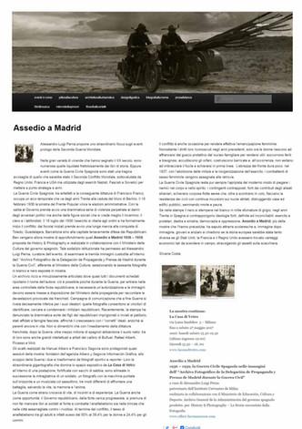 artalks_net Assedio a Madrid