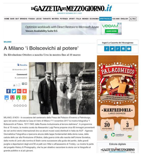 la Gazzetta del Mezzogiorno.it i Bolscevichi al potere