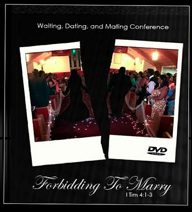 Forbidding to Marry DVD (2-disc)