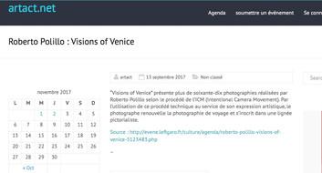 artact_net Visions of Venice a Paris
