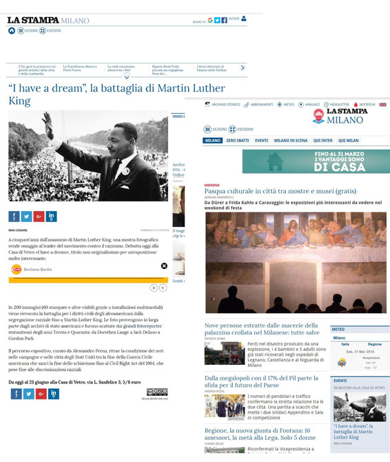 la stampa_milano_it I Have a Dream