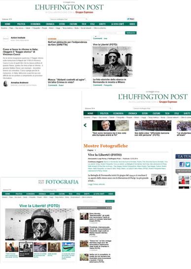 Huffington Post.it mostre e fotografia VlaLib