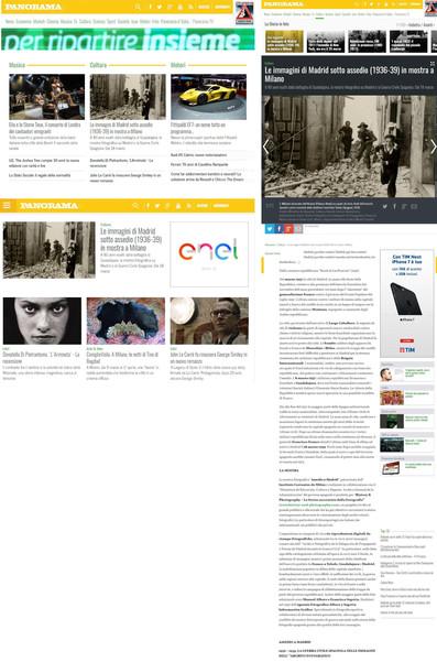 panorama_it Assedio a Madrid